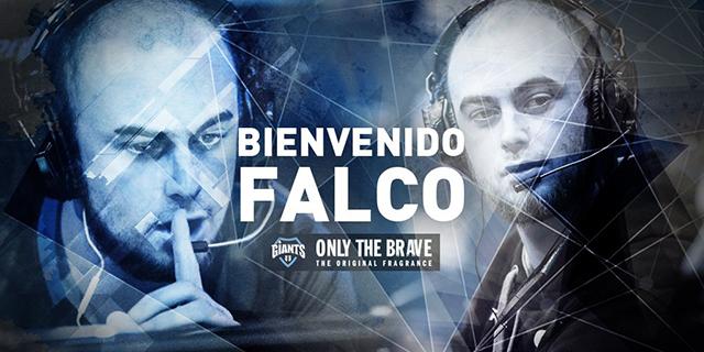 Falco nuevo support de Giants OTB