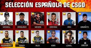 La selección española de CS:GO ya tiene a sus jugadores
