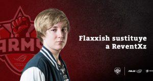 Flaxxish sustituye a ReventZx en ASUS ROG