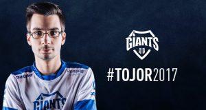 TojoR renueva por Giants