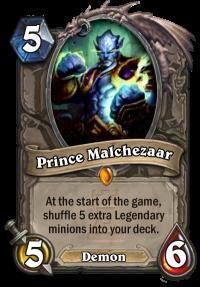 Carta Príncipe Malchezaar