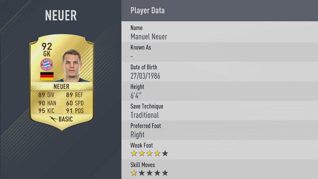 Neuer FIFA