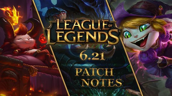 patch for league of legends