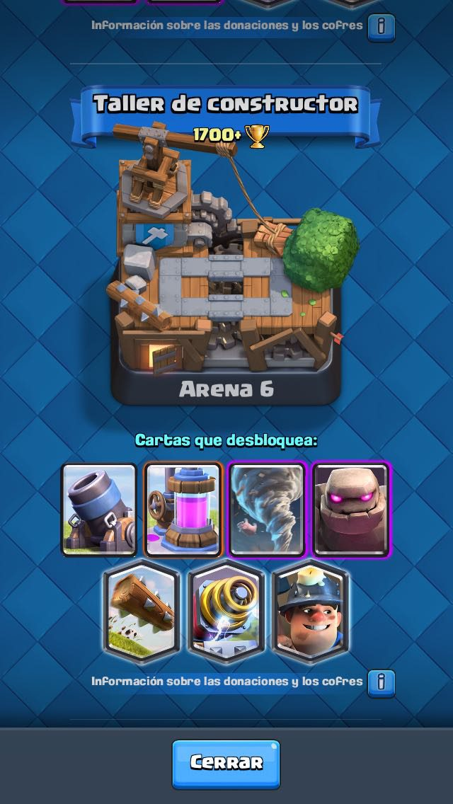how to get to arena 6 clash royale