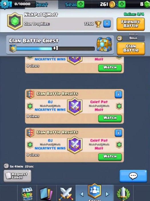 Batalla de clanes 2