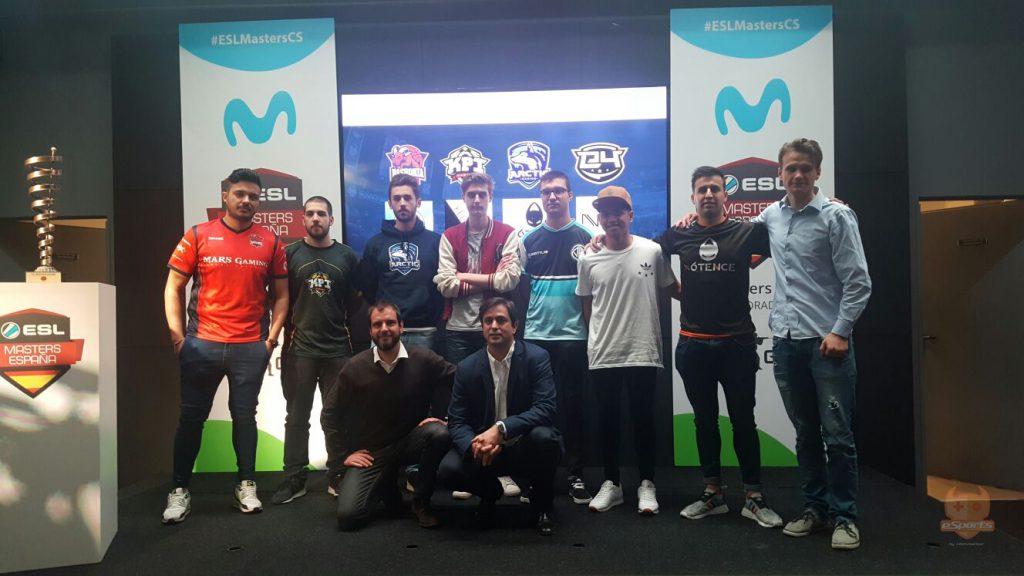 liga esl masters equipos