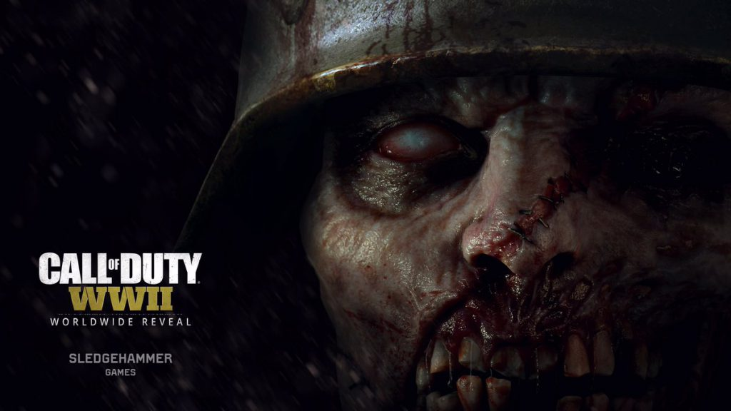 call of duty ww2 wwii zombie nazi
