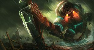 Nautilus, el ancla frustrante de League of Legends.