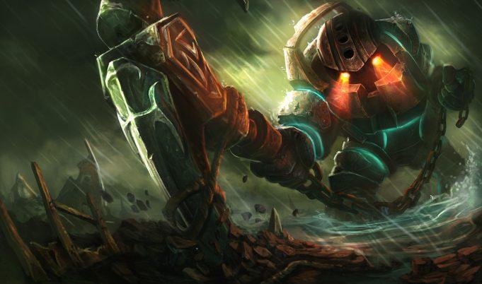 Nautilus, el ancla frustrante de League of Legends.
