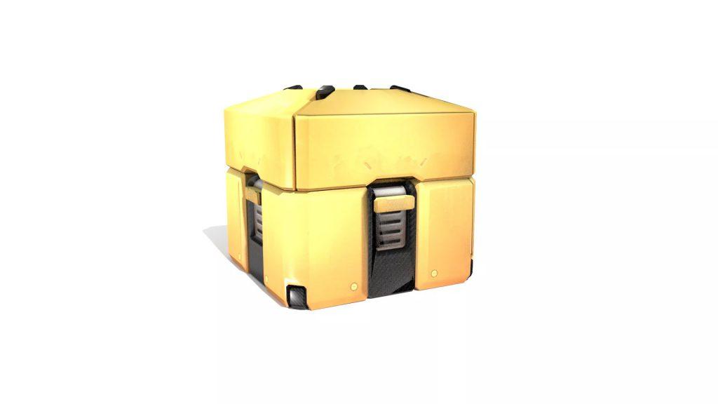 Caja botín Overwatch