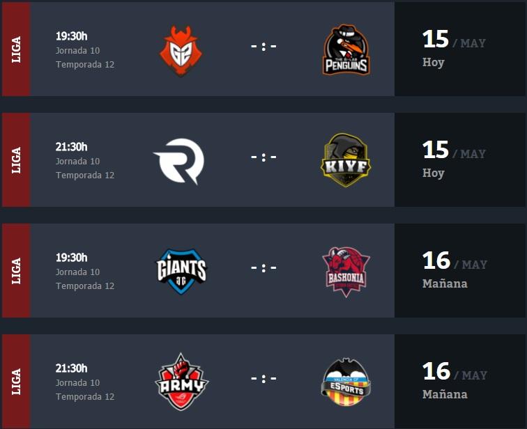 horarios Jornada 10 Superliga