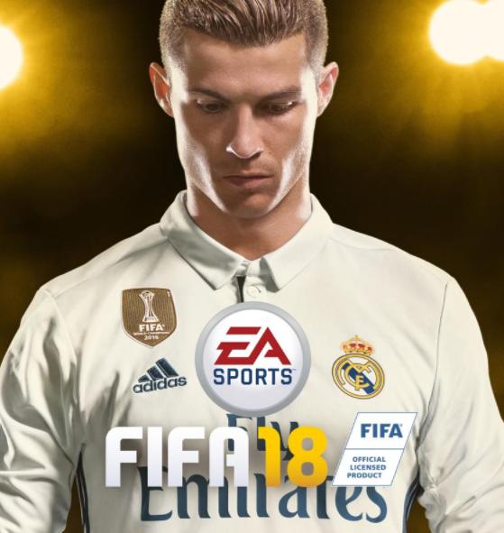 Portada Cristiano Ronaldo FIFA 18
