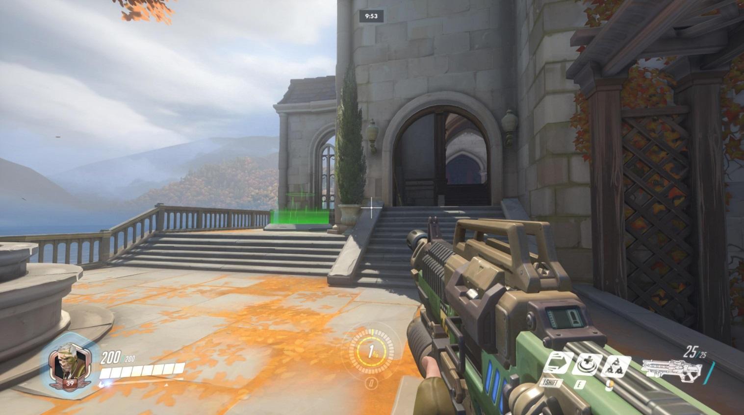 Overwatch mapa