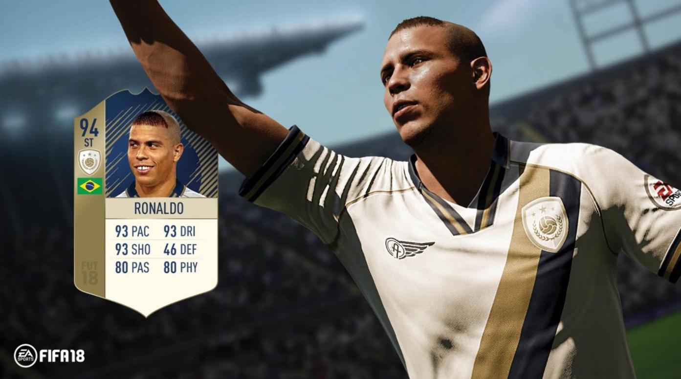 Ronaldo Nazario Fifa 18
