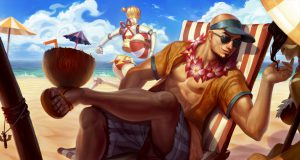 Lee Sin, el jungla más jugado en primavera en League of Legends.