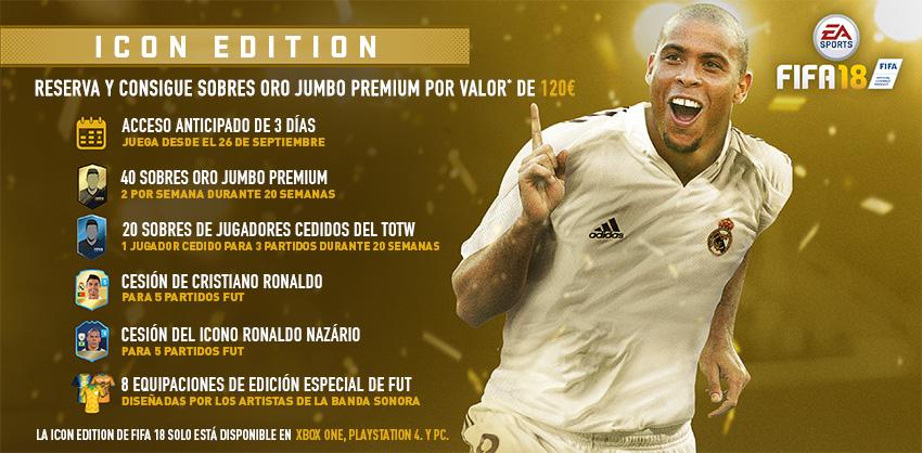 Ronaldo Nazario fifa 18 Edición