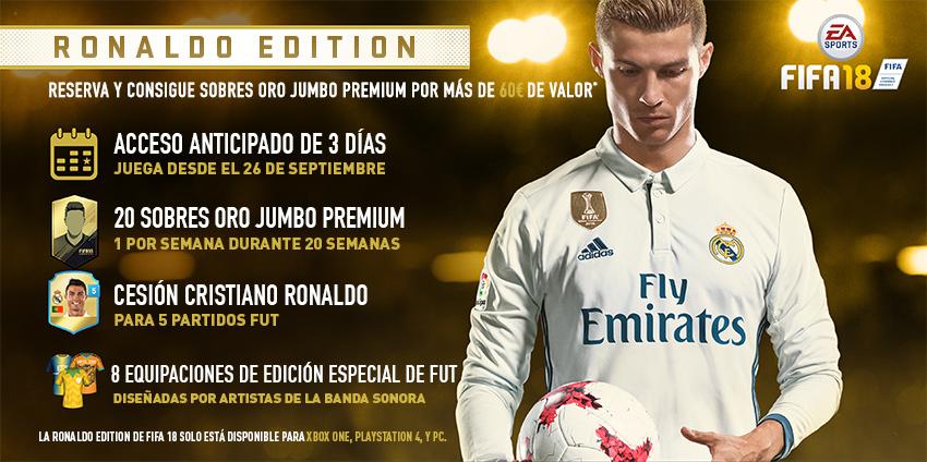 Cristiano Ronaldo Edicion fifa 18