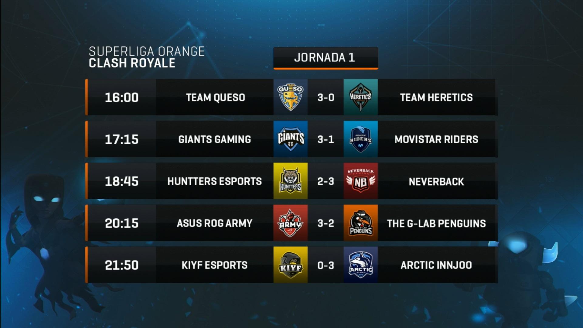Superliga Orange Clash Royale