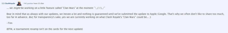 Guerra de Clanes Clash Royale
