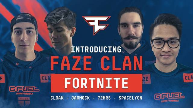 Faze Clan Fortnite