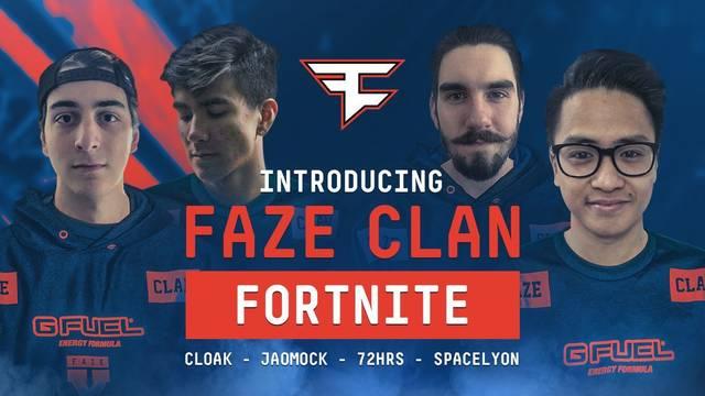 Faze Clan Fortnite