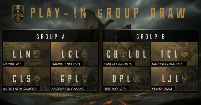 Grupos MSI 2018