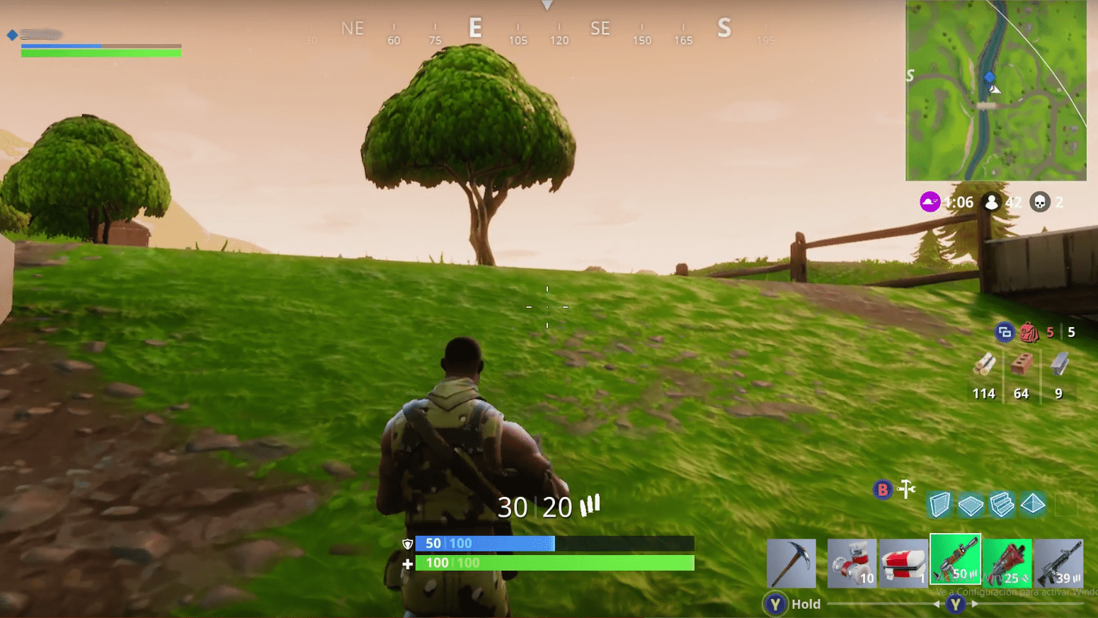 árbol manzana Fortnite