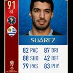Suárez Mundial FIFA 18
