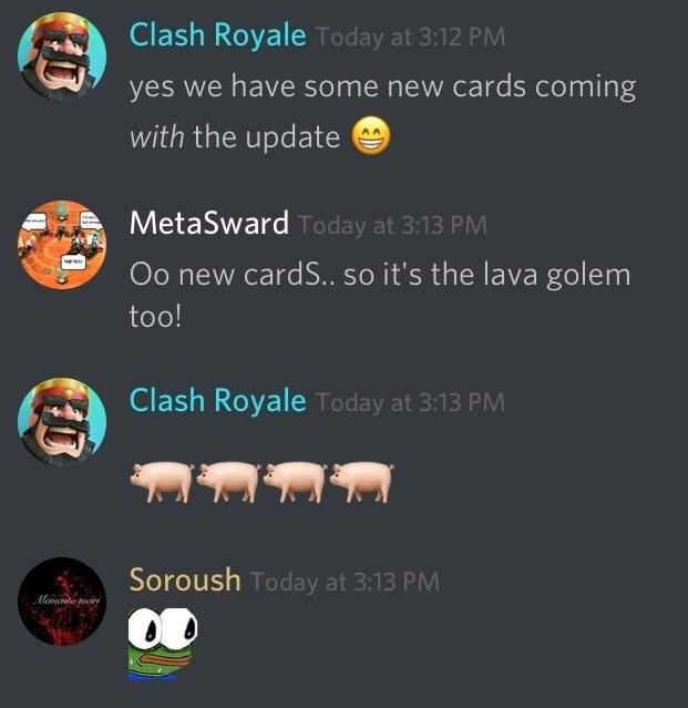 cerdos clash Royale