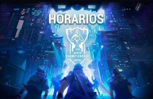 Horarios Worlds 2018 League of Legends