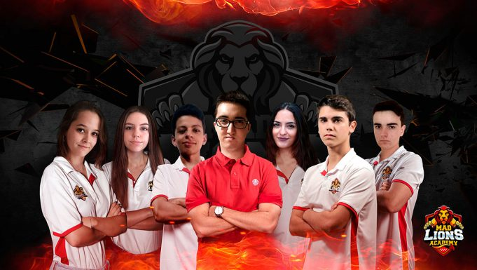 Cantera femenina Mad Lions de Clash Royale