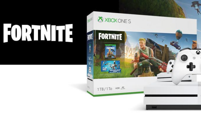 Pack Fornite Xbox One S