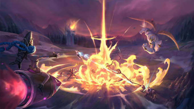 Bombardeo al nexo vuelve a League of Legends.