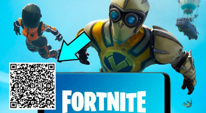 Fortnite Android QR