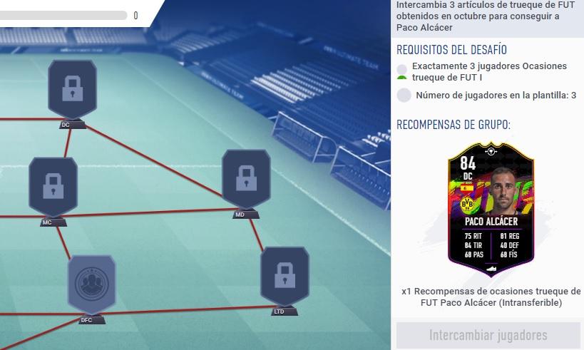 Qué Son Los Jugadores Trueque De Fut En Los Sbc De Fifa 19