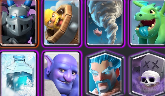mazo hielo Clash Royale