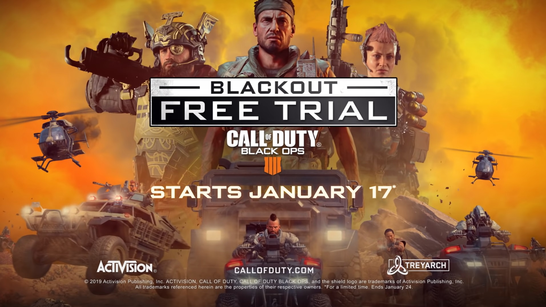 Call Of Duty Black Ops 4 Ofrece Gratis Blackout Durante Una Semana