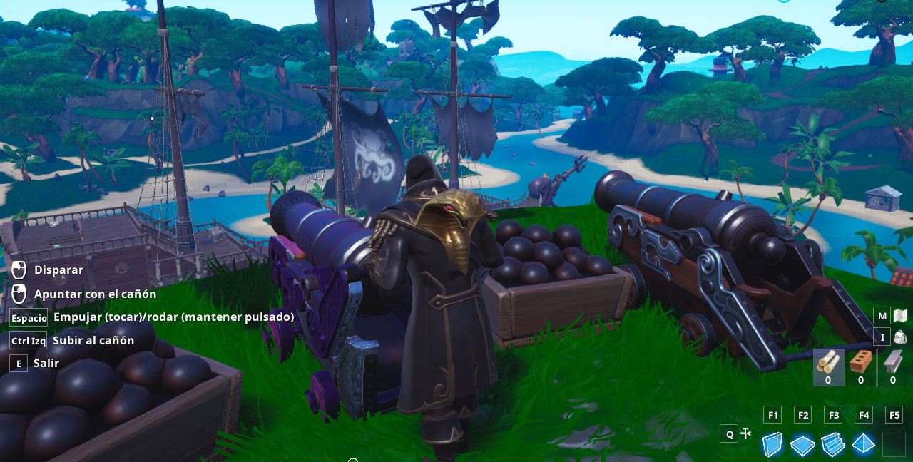 Desafío de Fortnite - ¿Dónde encontrar tesoros enterrados?