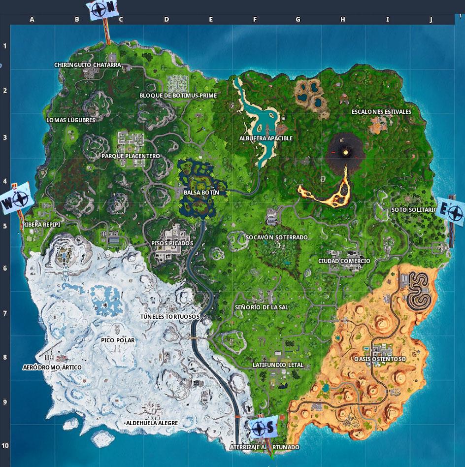 puntos-mas-al-norte-sur-este-y-oeste-de-la-isla