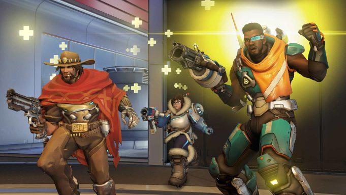 Baptiste, el último héroe en unirse al plantel de Overwatch.