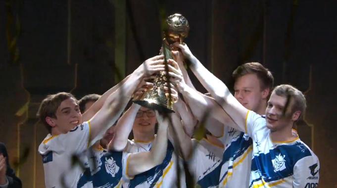 G2 Esports levanta el MSI 2019 de League of Legends.