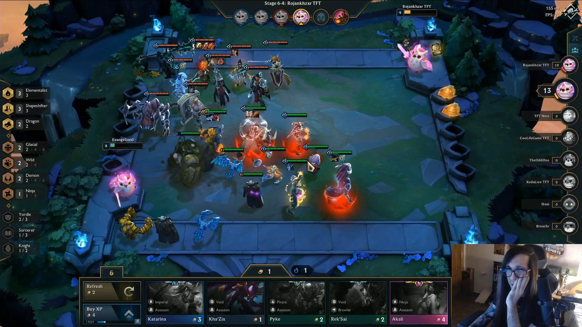Teamfight Tactics Twitch Rivals Evangelion Rojankhzxr