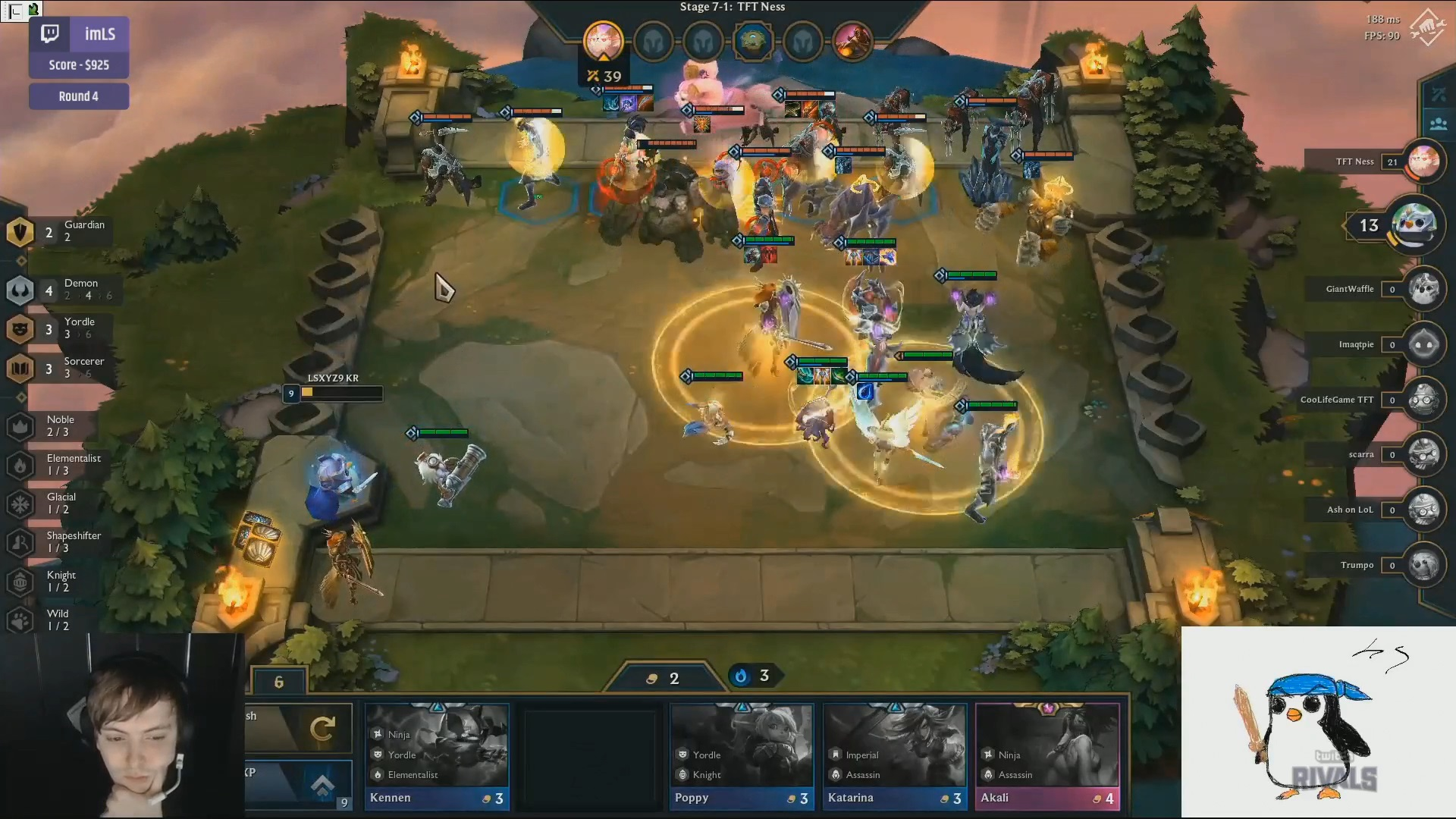 Ness Twitch Rivals TFT