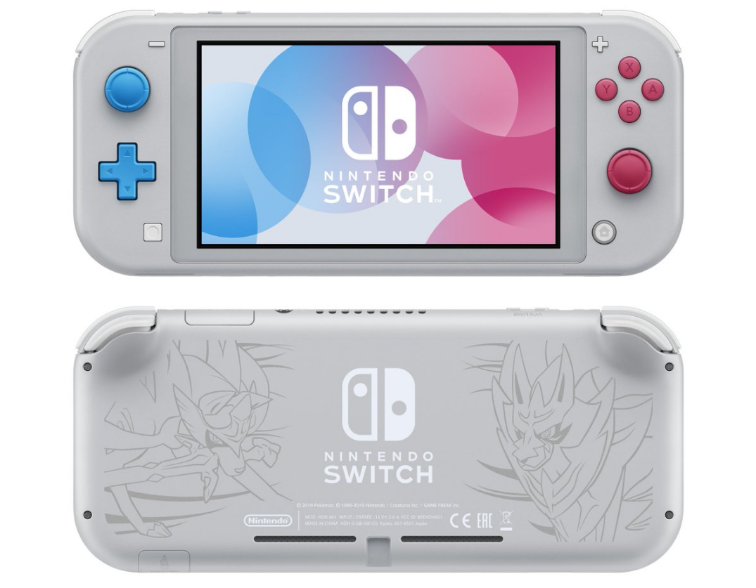 Pokémon Nintendo Switch Lite versión