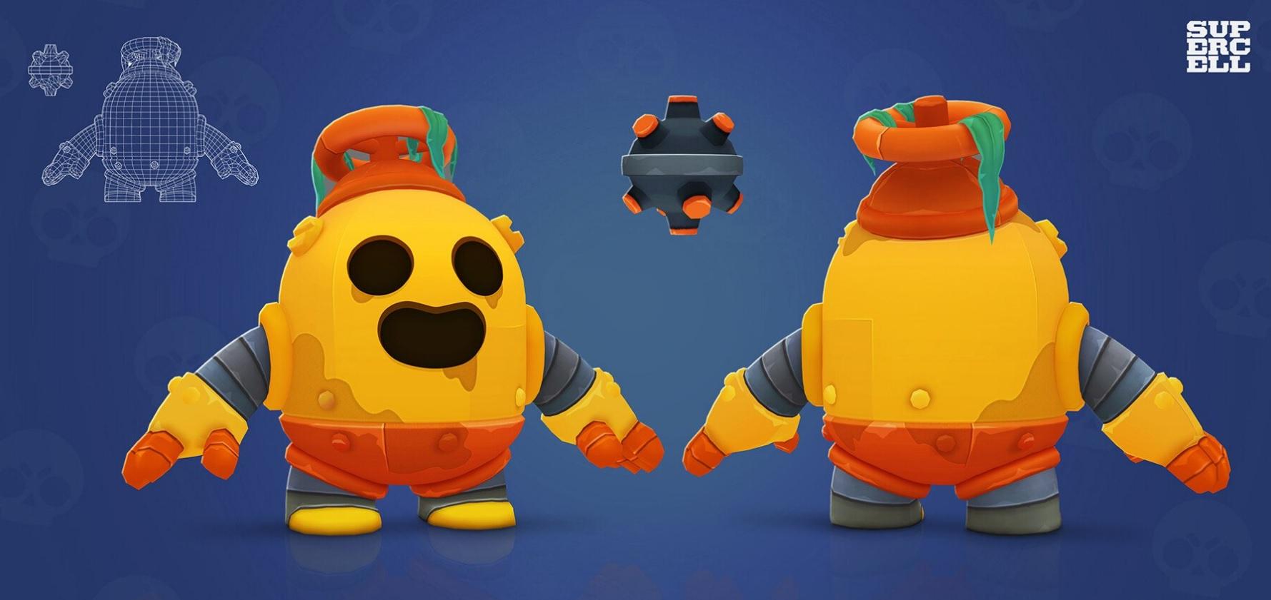 Robot Spike