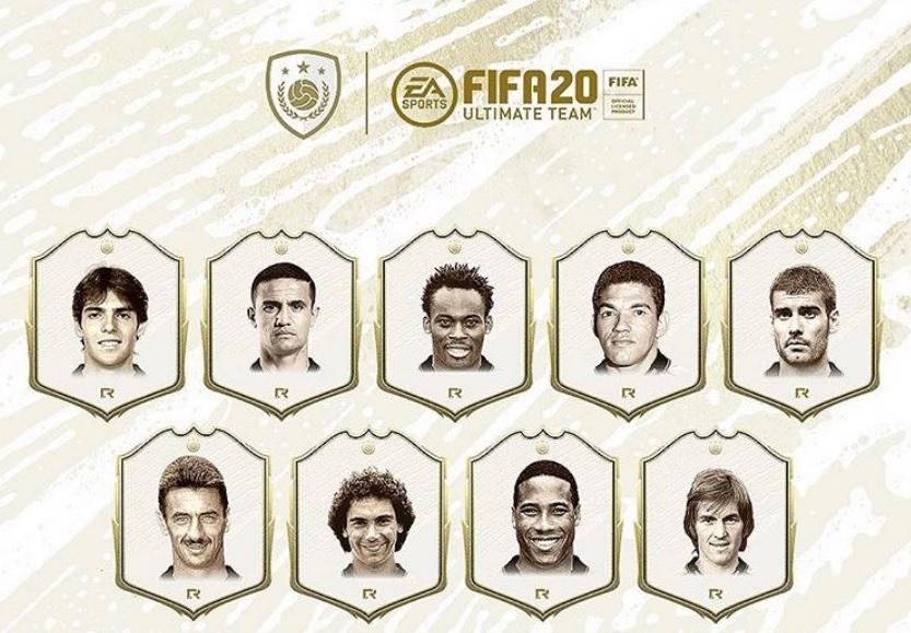 FIFA 20 iconos