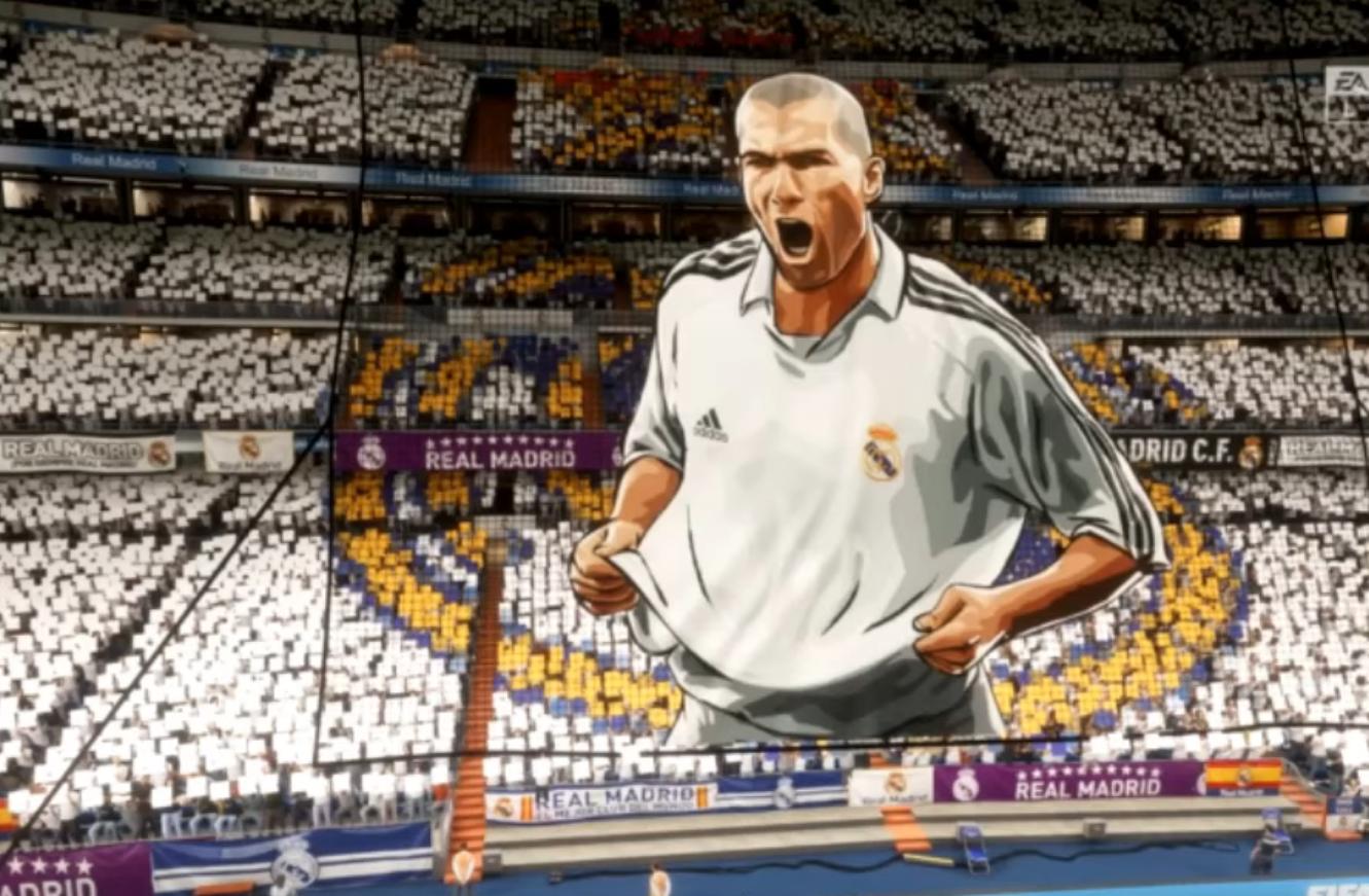 Tifo Zidane FIFA 20
