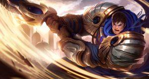 Garen, uno de los mejores campeones en toplane de League of Legends.