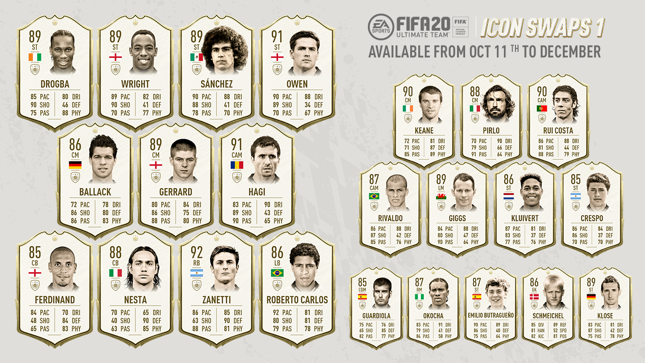 FIFA 20 FUT iconos