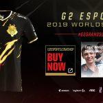 Camiseta G2 Esports Worlds 2019